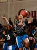Episcopal's Lady Knights play St. John's Mavericks in SJS's Liu Court in SPC varsity basketball. Mavs win 45-42.