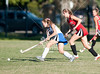 St. John's Lady Mavericks take on Episcopal's Knights in varsity field hockey at EHS's campus in Bellaire. Mavs win.