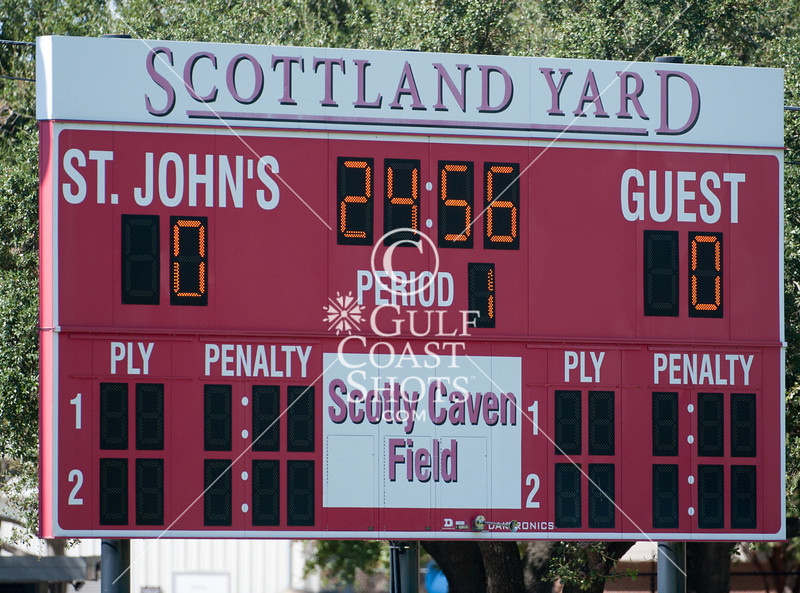 St. Andrews of Austin travels to Scotty Caven field to play the Mavs in junior varsity Field Hockey. The SJS JV1 team wins.