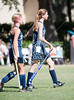 The Lady Crusaders of St. Andrews of Austin travels to Scotty Caven field to play the Mavs in JV2 Field Hockey. SJS wins.