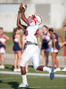 Westside HS's Bobcats host Lamar's Redskins at Houston ISD's Delmar Stadium. Lamar wins.