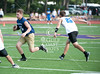 Texas private schools assemble at Kinkaid School's fields in Houston for the annual Texas Private School Coaches Association 7-on-7 football tournament.  Here Houston Christian High School's Mustangs and the Knights of Austin's Regents School compete.