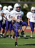 Kinkaid's 8th grade Falcons travel to Skip Lee Field at St. John's School to play the Mavericks in football. Falcons run away with the win, but Mavs score a thrilling run in the final drive for a TD to avoid the shutout.