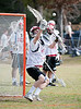 The Mavericks of St. John's School play Memorial High School's Mustangs in a varsity boys lacrosse matchup at Gullo Park as part of the 4th annual Mudslinger's Lacrosse tournament hosted by Texas Heat Lacrosse. SJS wins 7-3.