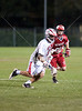 Memorial HS's varsity boys club lacrosse team played St. John's Mavericks at Scotty Caven Field in Houston. Mustangs win 5-1.