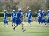 The Episcopal Knights send their JV1 boys to play the St. John's Mavericks in lacrosse on Nick Finnegan Field. SJS wins.