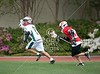 20 Middle School Lacrosse Teams from South Texas Played at St. John's in the 2011 Junior Jam. Here, Woodlands and St. John's field 8th grade boys at on Skip Lee Field at 12pm.