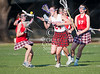 Rover Oaks Baptist School's Lady Raiders field their 7th grade lacrosse team against St. John's Mavericks. Playing at Scotty Caven Field, the Mavs win it 11-4.