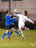 Episcopal's Knights play St. John's Mavericks at Scotty Caven Field in SPC varsity boys soccer. Knights win 4-0.