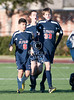 River Oaks Baptist serves as the neutral turf for a weather-rescheduled championship game for the Houston Junior Preparatory Conference 8th grade boys championship soccer game. It was all St. Francis for the first 40 minutes, until SJS tied and then won on a blooper, 2-1.