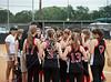 St. John's Mavericks 7th/8th grade A softball team hosts River Oaks Baptist School's Raider 7th/8th grade softball team. Raiders prevail 9-0.