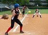 St. John's Mavericks 7th/8th grade A softball team hosts River Oaks Baptist School's Raider 7th/8th grade softball team. Raiders prevail 9-0.