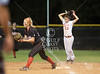 The Lady Cards of Bellaire High School travel to Katy High to play the Tigers in a double-header for the Texas UIL 5A Region 2 quarterfinals. Bellaire's UT-bound Gabby Smith pitches 14 shutout innings with 5 hits for a 7-0, 5-0 win, advancing to the semis.