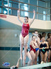 The University of Houston Natatorium hosts the Texas UIL Region 5 5A high schools with dive teams for the regional championships. This gallery focuses primarily on Bellaire, Memorial and Lamar high schools, but all divers are shown. All dives are from a 1 meter springboard.