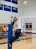 Girls Varsity Volleyball Teams from St. John's and Episcopal High School compete in SPC play at Crum Gym on the EHS campus. SJS's Mavericks sweep the Knights in 3.