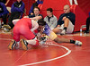 The Eagles of St. Thomas High School in Houston host wrestlers for a pre-season scrimmage. Attending were the Falcons of Kinkaid, the Lamar Redskins, and St. John's Mavericks.
