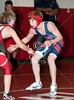 St. Francis Episcopal's Wolves wrestle at St. John's against the Mavericks in middle school action.