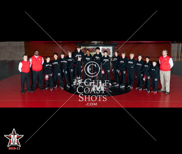 St. John's Wrestling Teams - middle and upper-schools - 2010-11 season