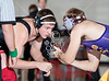 """SJS's Mavericks host Kinkaid's Falcons in the 3rd annual """"War on the Floor"""" all-school wrestling tourney. Kinkaid takes the trophy with a 92-72 point win."""
