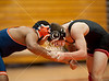St. John's Mavericks travel to Seven Lakes for a three-school varsity wrestling meet and wrestle Seven Lakes Spartans. Seven Lakes wins.