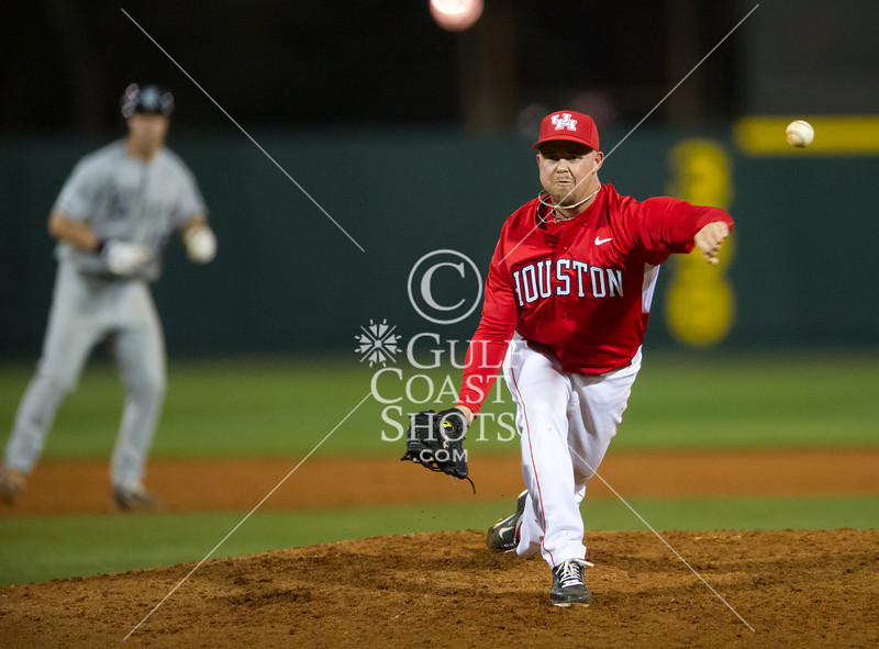 The University of Houston (4-4) Cougars host the Rice Owls (9-1) at Cougar Field for NCAA Men's baseball in a Conference USA counter game. The Owls win 4-1. Andrew Benak (2-0) gets the win for Rice, Austin Pruitt (1-1) the loss, and J.T. Chargois (1-1) the save.