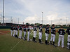 Bishop Lynch travels to Houston to play the Eagles of St. Thomas in TAPPS playoffs at Father Wilson field in baseball. St. Thomas wins with a complete game by starter #10 Austin Fairchild with a score of 2-1. Fri. Apr. 27, 2012. Houston, Tex. (Kevin B Long / Gulf Coast Shots)