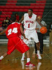 The Bellaire Cardinals host Dallas' Woodrow Wilson WIldcats in varsity basketball at the Powerade Texas Jamboree basketball tournament at Strake Jesuit over Thanksgiving weekend.