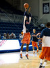 The Owls of Houston's Rice University (13-10, 4-4) host the Miners of UT El Paso (UTEP, 10-12, 3-5) in Conference USA basketball at Tudor Fieldhouse. The teams entered the night with an even 3-4 conference record, but Rice wins on a shot with 1 second remaining, 77-75.