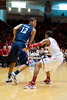 The Rice Owls (14-11, 5,5) men's basketball team traveled across town to Hofheinz Pavilion to take on the Cougars of the University of Houston (11-12, 3-7) in a Conference USA rivalry. After trailing by 13 in the 1st, Rice poured it on with a 2nd period 58% FG stat to win it 79-71. Houston, TX, Wed., Feb. 8, 2012 (AP Photo/Kevin B Long).