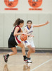 Kinkaid hosts a Spring JV girls basketball tournament, and in this winner's bracket semifinal beat their guest, the Lady Mavericks of St. John's 51-50 in OT.