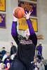 Kinkaid's Falcons host St. John's Mavericks in the SPC D1 girls basketball championship. Sat., Feb 14, 2012. (David Shutts / Gulf Coast Shots)