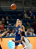 The Houston Baptist University Huskies played Rice University's Lady owls at Tudor Court in basketball. Rice runs away with it, 75-42.