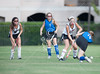 The Lady Knights of Bellaire's Episcopal High School play their JV team against home team St. John's Mavericks on Skip Lee Field in SPC field hockey. The Mavs win it, 6-0