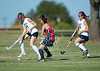 The Lady Falcons of Ft. Worth Country Day travel to Edwards Field in Oklahoma CIty to play the Lady Cyclones of Casady in varsity SPC field hockey. The Falcons win 1-0.