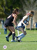The Lady Falcons of Ft. Worth Country Day School and the Lady Mavericks from St. John's School play for first in the 2011 Fall SPC girls field hockey championship. SJS won in strokes, 1-0.