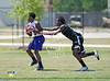 Sixteen teams compete in the Positive Coaching Alliance's 7-on-7 football tournament at the South Campus Athletics Complex in Houston.