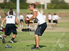 Pools 1 and 2 qualifiers from the Texas State Private Schools Association 7-on-7 tournament, held at Ft. Worth Country Day School. Winners of best 2 of 3 advance to championship round, losers to consolation round. In this match, Brook Hill's Guard take on Tyler's Grace Community School's Cougs in a 9am game.