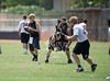 The Second Baptist Eagles host Northland Christian and St. John's in summer 7-on-7 practice.