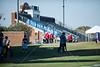 The St. John's Mavericks play at Casady and take on the Cyclones in SPC varsity counter football. The Mavs won 55-34