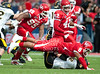 No. 7 University of Houston's Cougars drop their only game of the season and their hopes to a BCS bowl game in the Conference USA championship hosting No. 24 Southern Miss, 49-28 at Robertson Stadium.