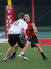 St. Thomas High School hosts Episcopal, St. John's, Houston Christian and St. Pius for a weekly 7-on-7 football league at Hotze Stadium