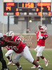 Lamar's Redskins host Clearbrook's Wolverines in HISD's Delmar Stadium for varsity football.