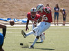 UIL District 20 5A teams the Lamar Redkins and the Westside Wolves play at Butler Stadium on a sunny Saturday. Lamar's home game provides the backdrop for homecoming, and the Skins brought in a win for the home crowd, 38-7.