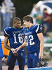 Clear Falls plays Episcopal in EHS's final game of the season under rain. Both teams are Knights, but Bellaire's EHS team won it 48-10. Connor Leisz broke the school's all time single-season pass-reception record in the final game of his HS career.