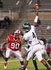 The Cy Falls Eagles, heavily favored to win, fall in a stunning comeback from a 34-14 deficit by the Lamar Redskins, who win 35-34 in UIL Texas Conference 5A Division 1 area football playoffs. Game played at Tully Stadium. The win advances Lamar to play Pearland on Thanksgiving weekend.