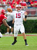 Case Keenum, record-breaking QB for #11 University of Houston leads the Cougars to another win in their march towards perfection and a BCS Bowl bid, as they defeat the visiting SMU Mustangs 37-7 at Robertson Stadium.