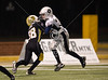 On a cold night, CFSA's championship varsity game pitted the Hamilton Steelers against the Bleyl Raiders in Cy-Fair's Berry Stadium. The Raiders were victorious, 16-8 in a game with more than a dozen fumbles.