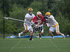 The St. Mark's Lions take on St. John's Mavericks in the Southwest Preparatory Conference (SPC) D1 Boys 2012 Lacrosse Chapmionship from the campus of St. Andrew's Episcopal School. The Lions ran away with it, and won 9-5 with a late rally by the Mavs.