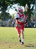 Strake Jesuit Preparatory School's Crusaders travel to Scotty Caven Field on the campus of St. John's School to take on the Mavericks in boys varsity lacrosse. The Mavs win 5-4.
