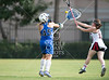 A US Lacrosse-sanctioned citwide semifinal girls lacrosse match had Episcopal's Lady Knights at St. John's to play the Mavericks.  The Mavs win to advance, 18-5